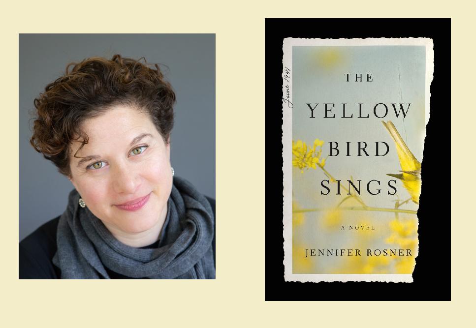 Jennifer Rosner, Żółty ptak spiewa