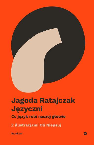 """""""Języczni"""" Jagoda Ratajczak okładka"""
