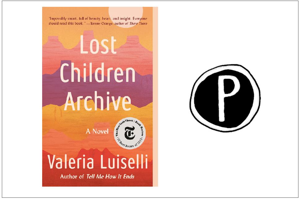 Lost Children Archive okładka, logo Wydawnictwa Pauza