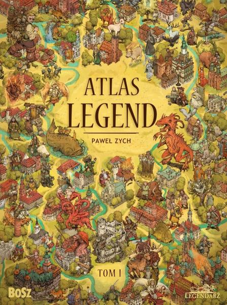 Atlas legend Paweł Zych okładka