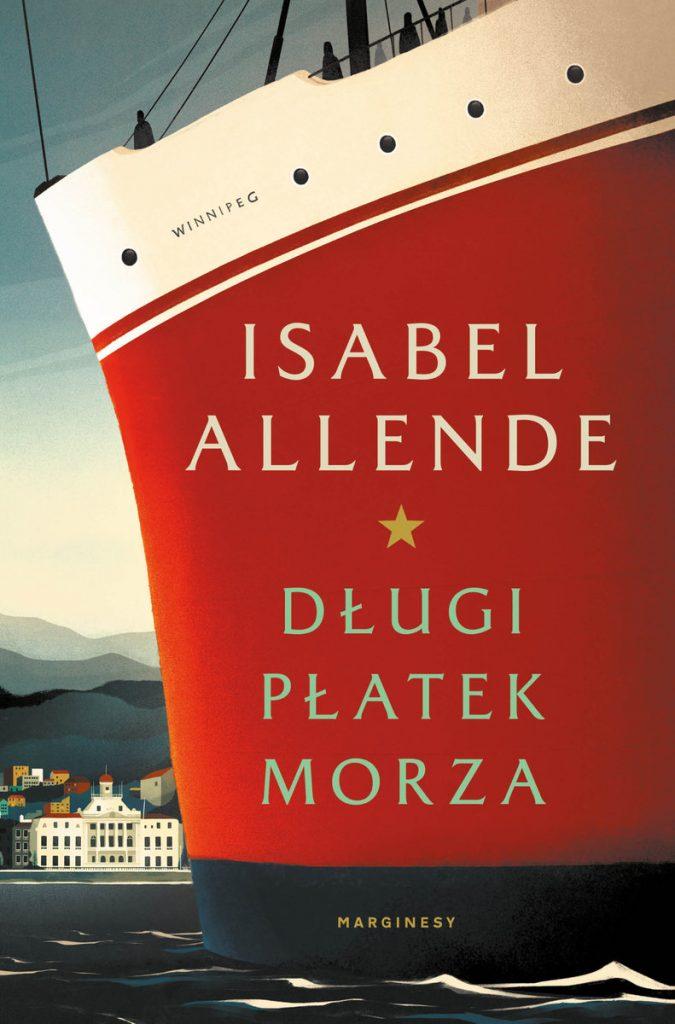 """""""Długi Płatek Morza"""" Isabel Allende okładka"""
