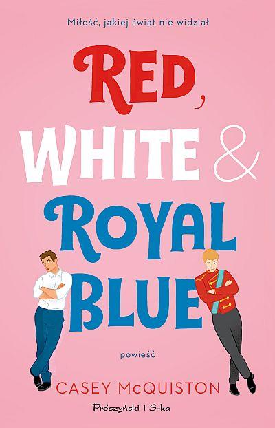Red White & Royal Blue McQuiston okładka