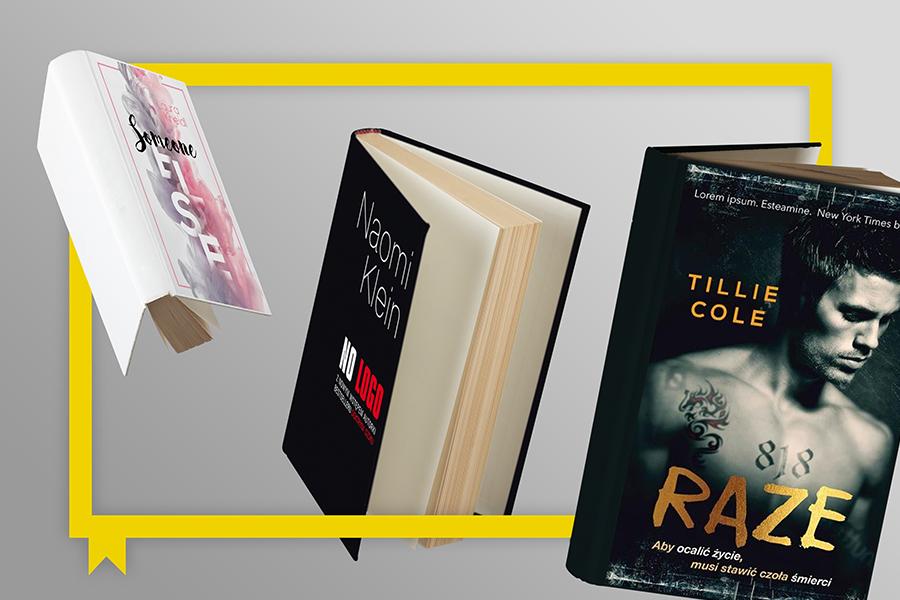 Okładki książek o angielskich tytułach