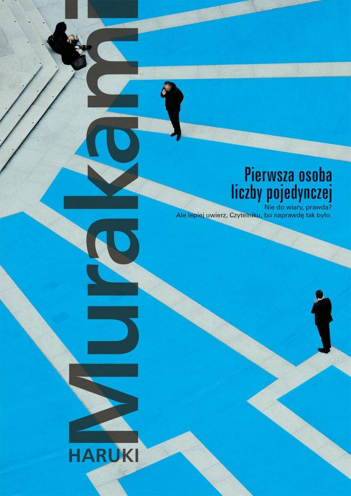 Pierwsza osoba liczby pojedynczej H. Murakami okładka
