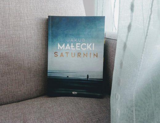 Książka Saturnin na fotelu za zasłoną