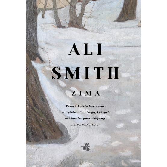 Zima Ali Smith okładka