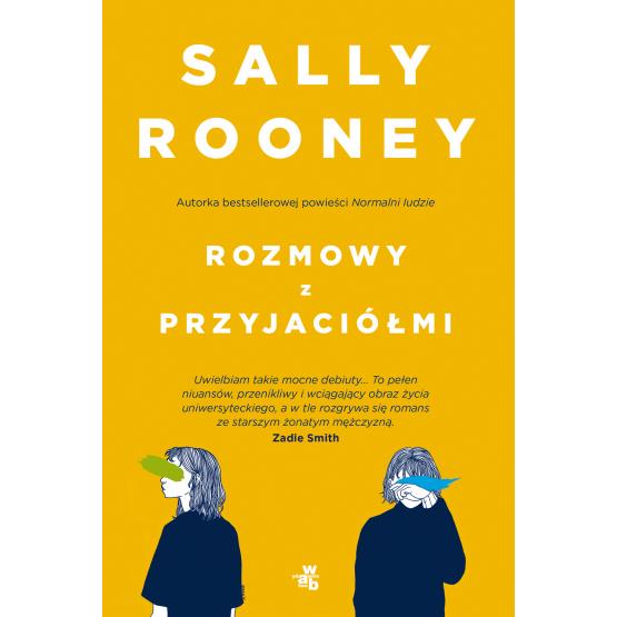 Rozmowy z przyjaciółmi Sally Rooney okładka